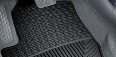 Gumowymi dywanikami samochodowymi